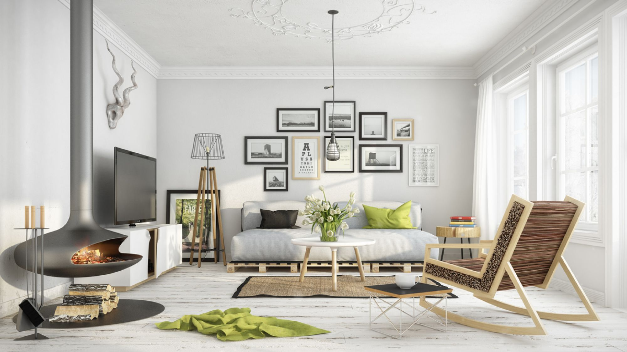 Creating a scandi-style interior – 3 easy steps for beginners ...